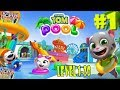 Talking Tom Pool Level 1-20 Walkthrough Gameplay #1