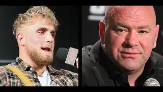 Dana White says Jake Paul won't box UFC Fighter |  Fallout