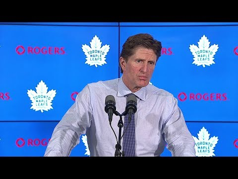 Maple Leafs Post-Game: Mike Babcock - January 16, 2018