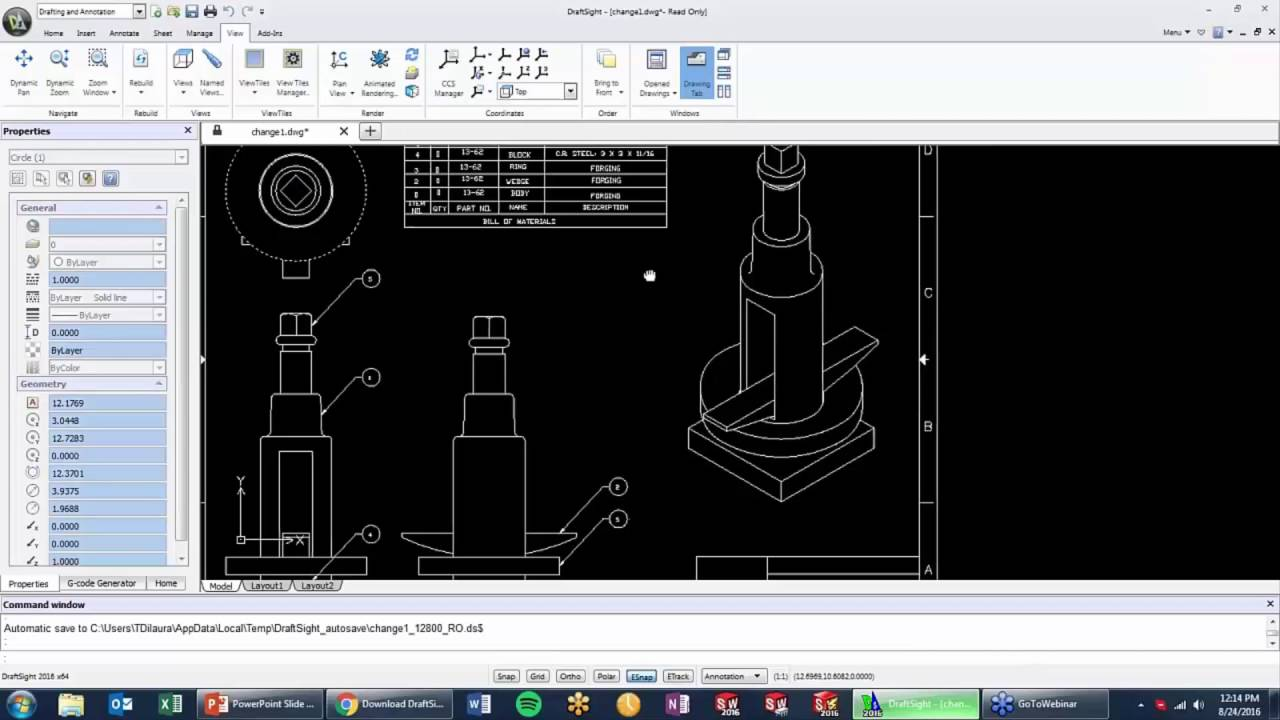 DraftSight: Learn the Basics In One Hour | Scan2CAD