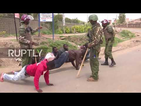 Kenya: Violent scenes in Nairobi as election protests rage o