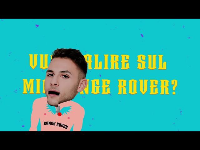 RANGE ROVER - Amedeo Preziosi (Lyrics video)