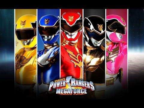 Могучие рейнджеры Мегасила смотреть подряд все серии