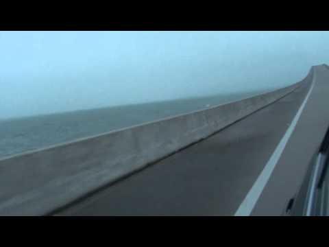 Traveling across the Dauphin Island Bridge