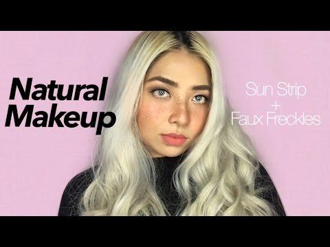 Natural Makeup with Sun Strip + Faux Freckles (Philippines) | Katrina Tizon