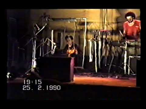 The unique experimental Russian band ZGA - Riga 1990