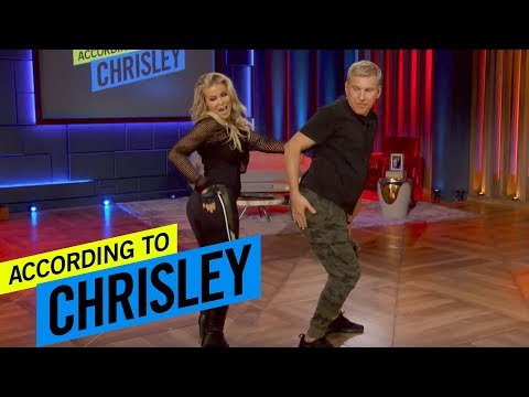 According to Chrisley | Learn How to Dance The Carmen Electra Slide AKA The Todd Boogie