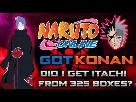 Naruto Online | Getting Konan | 325 Boxes is that enough for itachi?