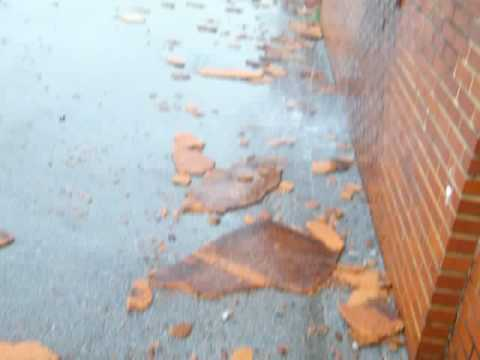 Huntland School Damage