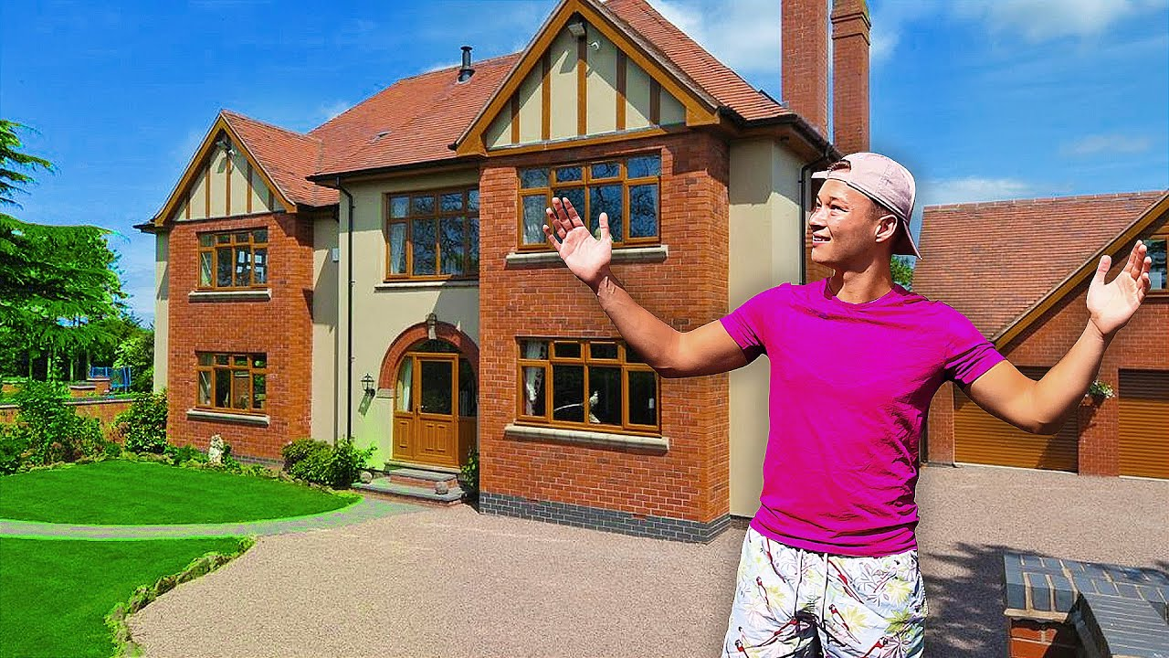 MY £1,000,000 NEW HOUSE TOUR (I MOVED OUT)