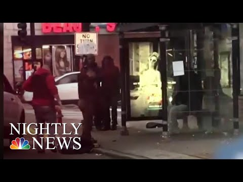 Chicago Officer Investigated After Video Shows Him Body-Slamming Man | NBC Nightly News