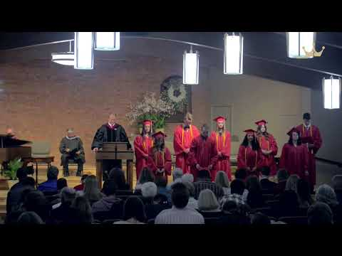 Woodcrest Baptist Academy Class of 2021 Graduation