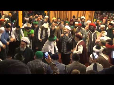 Hadra with Mawlana Sheikh Muhammad Adil and Sheikh Bahauddin Adil in Germany