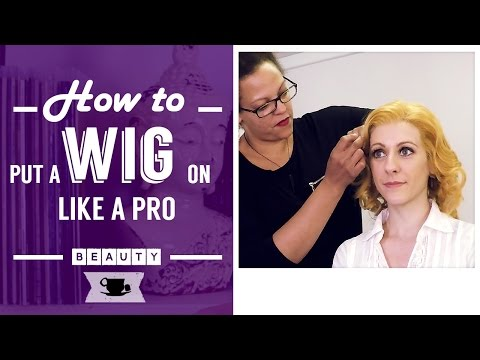 How to put a Wig On Like a Pro | Lazy Dancer Tips