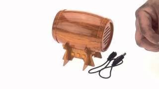 Пивная бочка - спикер MP3. Необычный спикер. Парк чудес подарки оптом(, 2015-04-30T11:42:11.000Z)
