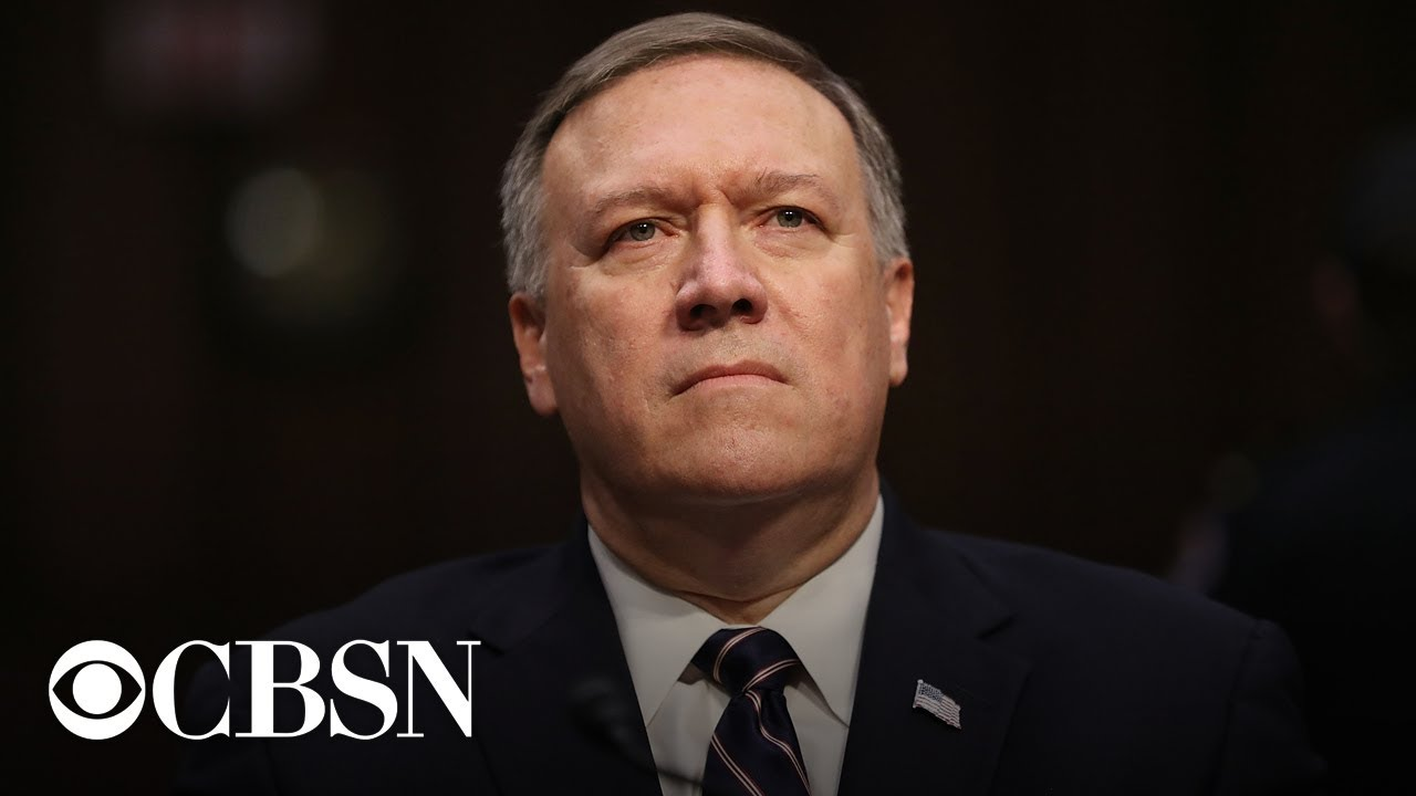 Mike Pompeo Insists U.S. Safer but There May Be a 'Little Noise' in ...