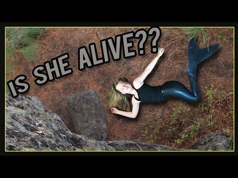 MERMAID FALLS OFF CLIFF! | A Mermaid's Journey Outtakes