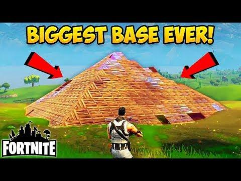 BIGGEST BASE EVER MADE! - Fortnite Funny Fails and WTF Moments! #19 (Daily Fortnite Funny Moments)