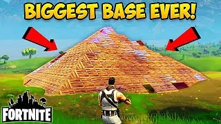 BIGGEST BASE EVER MADE! - Fortnite Funny Fails and WTF Moments! #19 (Daily Fortnite Funny Moments)