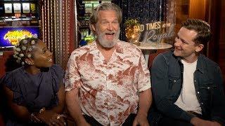 BAD TIMES AT THE EL ROYALE: Jeff Bridges, Cynthia Urivo & Lewis Pullman Interviews