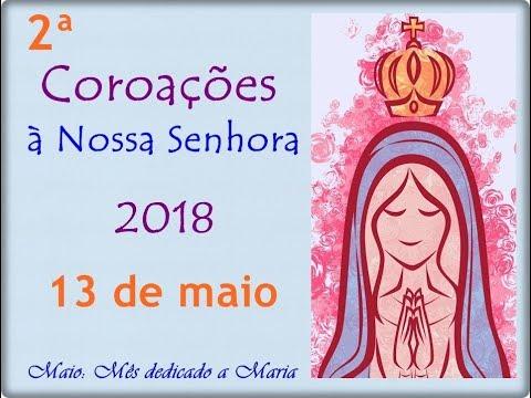 Coroação - 13 de maio - Dia das mães