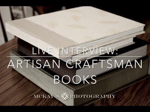 Wedding Album Interview: Artisan Craftsman Books