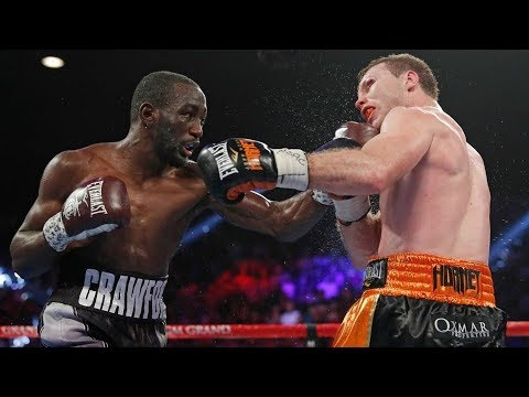 Terence Crawford vs Jeff Horn TKO Highlights