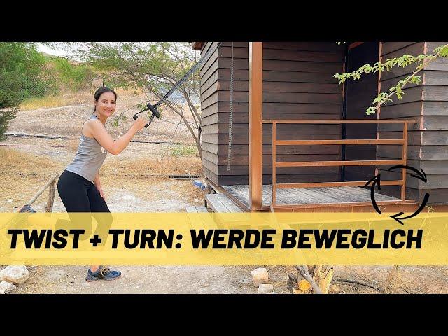 TRX Mobility Workout + Rückentraining speziell für Golfspieler