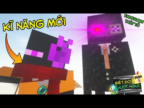 Minecraft Biệt Đội Vượt Ngục (PHẦN 6) #CUỐI- JAKI MỞ ĐƯỢC NĂNG LỰC MỚI - SIÊU GÁNH TEAM 👮 vs 💪