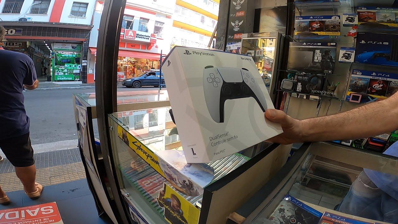 Preço do XBOX series e PS5 na Santa Efigênia