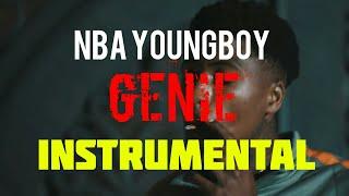 NBA YoungBoy - Genie [INSTRUMENTAL] | Prod. by IZM