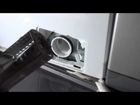How to : Clean Drain pump filter on Samsung Ecobubble Washing Machine