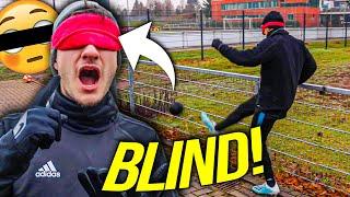 Extreme BLINDE FUßBALL GOLF Challenge!