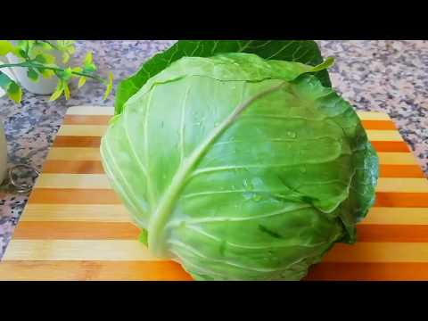 cabbage-recipe-/-chou-vert-farcis-au-four-recette-facile-et-rapide
