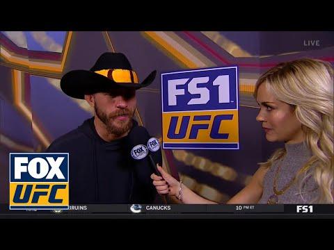 Donald 'Cowboy' Cerrone talks to Laura Sanko | WEIGH-IN | UFC FIGHT NIGHT
