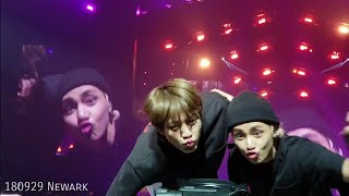 V & Jin - So What Compilation @ BTS 방탄소년단 Love Yourself Tour in North America