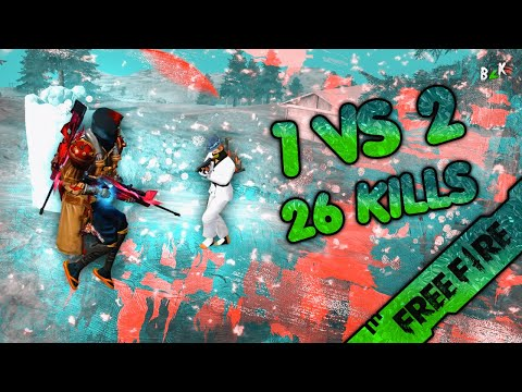 [B2K] SOLO VS DUO CRAZY GAMEPLAY 26 KILLS