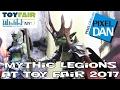 Mythic Legions Four Horsemen Design Product Walkthrough at New York Toy Fair 2017