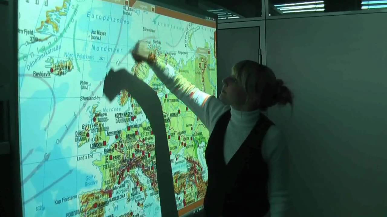 Interactive wall map for whiteboards youtube gumiabroncs Images