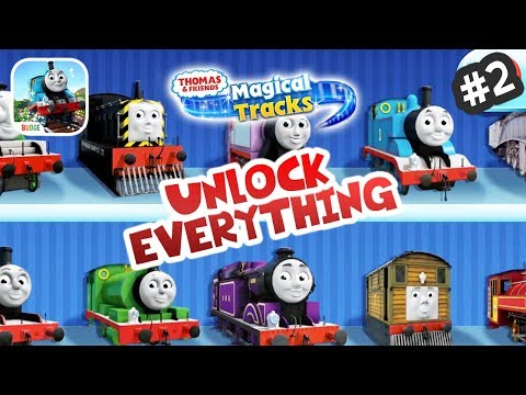 Thomas & Friends: Magic Tracks #2 🔑🔓 Unlock EVERYTHING! ★ IOS / Android App (By Budge)