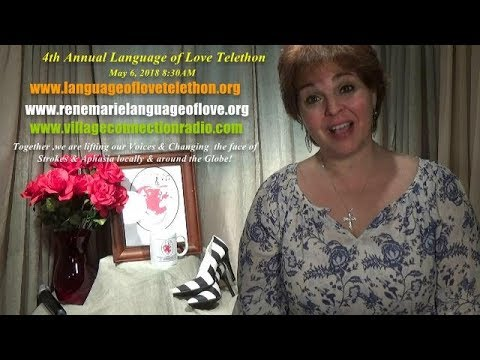 Here We Go! ~4th Annual  Language  of Love Telethon ~ May 6, 2018