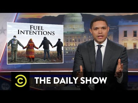 The Dakota Access Pipeline's Reservation Reroute: The Daily Show