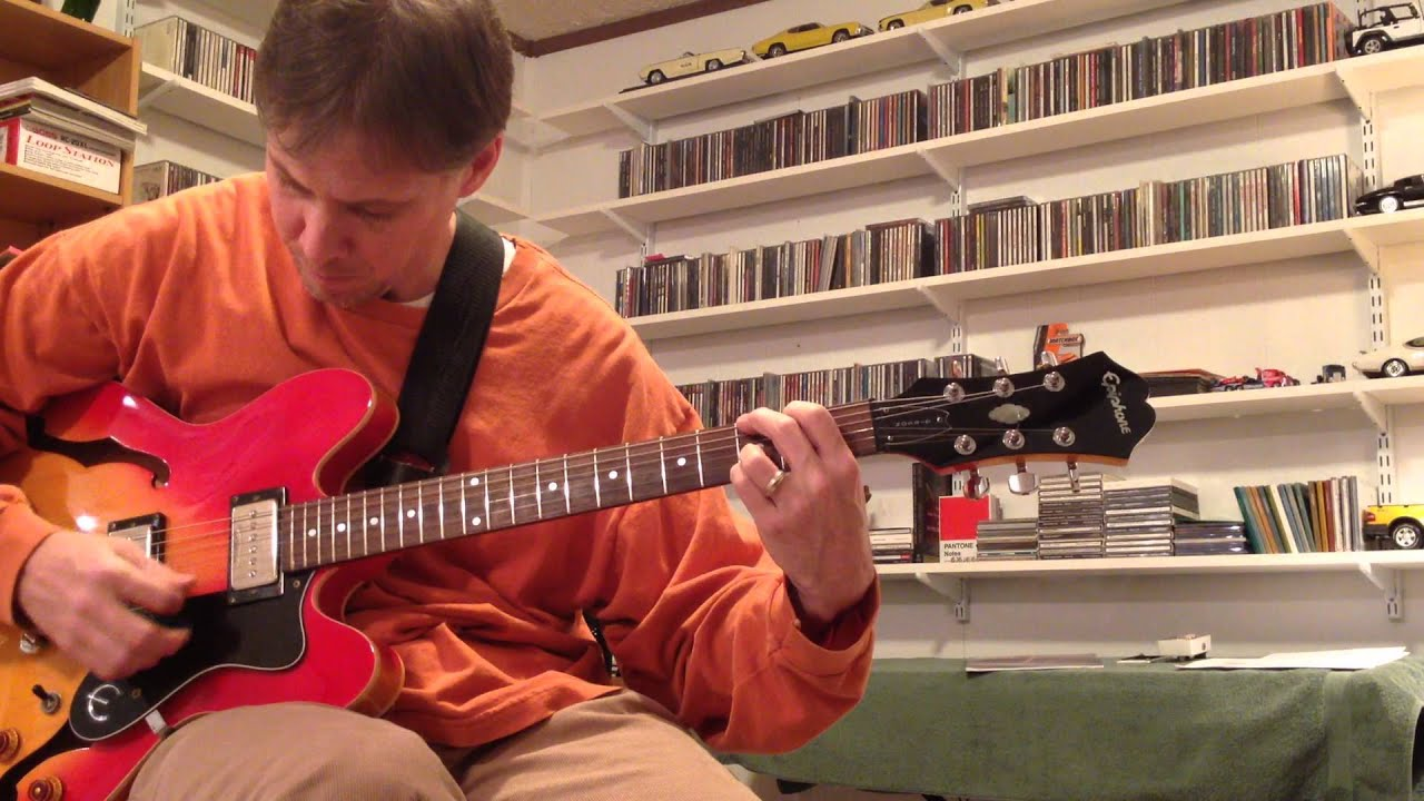 epiphone dot with seymour duncan phat cat sph90 1 p 90 pickups part5 youtube. Black Bedroom Furniture Sets. Home Design Ideas