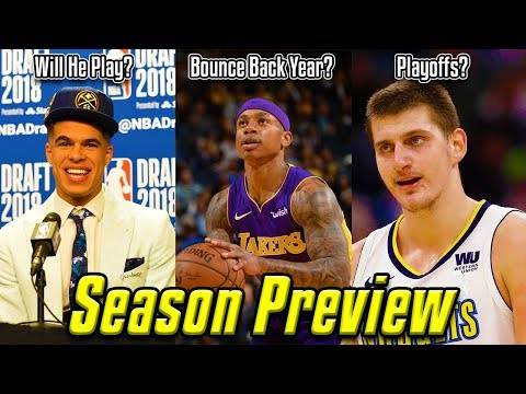 2018-19 NBA Season Preview: Denver Nuggets