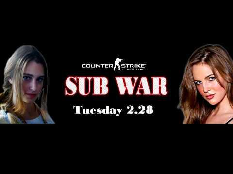 Haylinic and EvanneElizabeth sub war