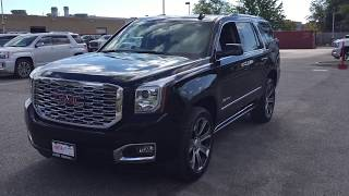2018 GMC Yukon Denali Head Up Display Power Steps Oshawa ON Stock #180197