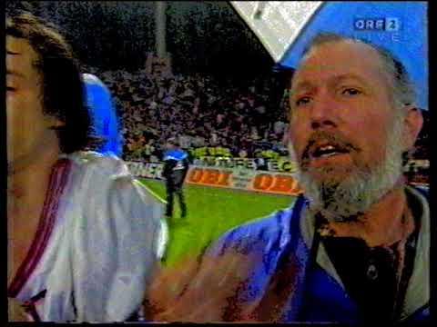 Letzte Minuten: Karlsruher SC - Austria Salzburg 1:1 - 1993/94