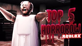 TRY NOT TO FRIGHTEN!! Top 5 Horror Roblox