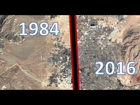 Las Vegas expansion Time lapse