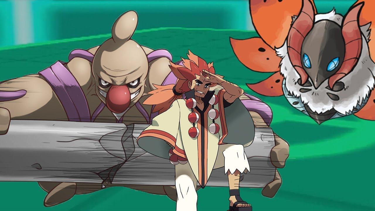 Pokemon Theme Battle Champion Alder Team Youtube
